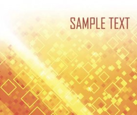 Shining orange abstract background vector 10
