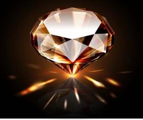 Sparkling diamond vector background
