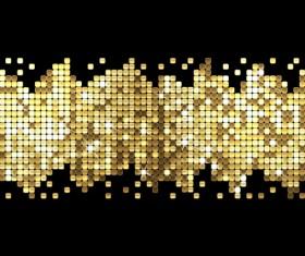 Sparkling sequins background vector 01