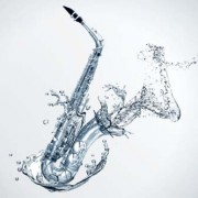 Link toWater effects saxophone psd background