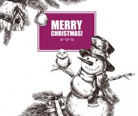 2016 Christmas big sale hand drawn vector 09