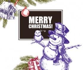 2016 Christmas big sale hand drawn vector 10