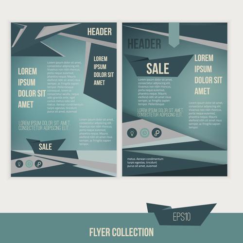A4 Flyer Design Template Vectors Material 03 Free Download