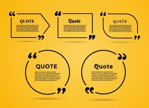 Business text box vector design 01