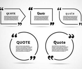 Business text box vector design 02