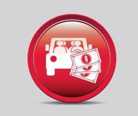 Car and money icons