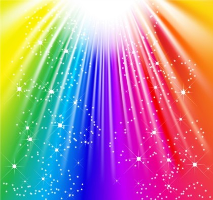 colorful flash design background vector free download