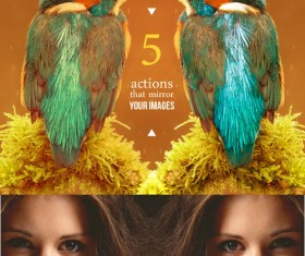 Creative Mirror Exposure Photoshop Actions