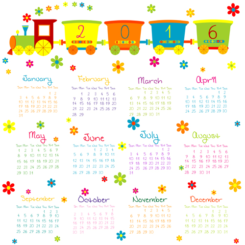 2016 Free Cute Calendars | Search Results | 2016 Calendar Printable