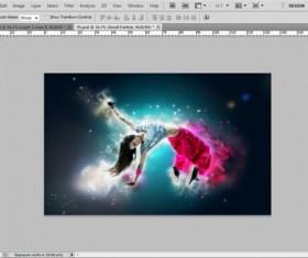 Creative Mirror Exposure Photoshop Actions free download