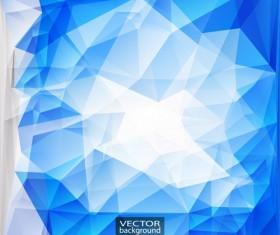 Geometric embossment effect backgrounds vector set 01