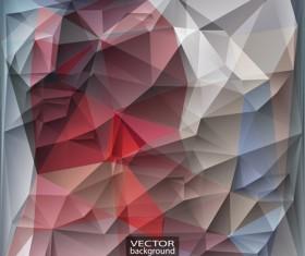 Geometric embossment effect backgrounds vector set 02