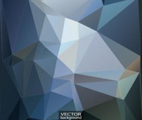 Geometric embossment effect backgrounds vector set 03