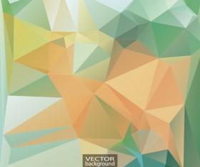 Geometric embossment effect backgrounds vector set 04