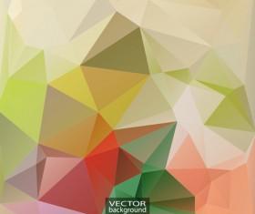 Geometric embossment effect backgrounds vector set 08
