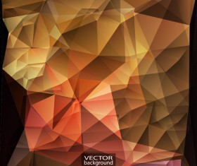 Geometric embossment effect backgrounds vector set 10