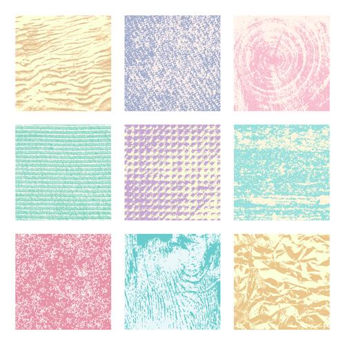 Grunge texture pattern vector material 02