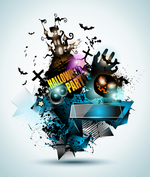 Free EPS file Halloween Night Music Party flyer template vectors 04 downloadHalloween Night Music Party flyer template vectors 04 - Vector Halloween, Vector Music free download - 웹
