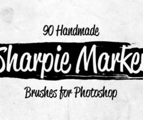 Handmade Sharpie Marker Photoshop
