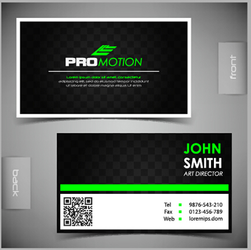 Modern business cards front and back template vector 03 free download modern business cards front and back template vector 03 reheart Images