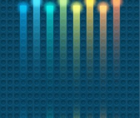 Modern pattern with abstract background vector 08