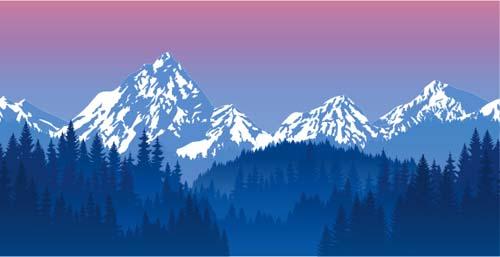 free vector clipart mountain - photo #29