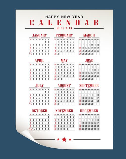 Retro Calendar Design : Retro calendars design vector material