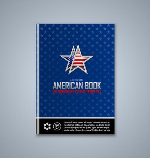 Creative Book Cover Design Vector ~ Set of book cover creative vector free