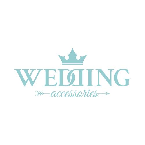 Vintage Wedding Logo Design Material 03