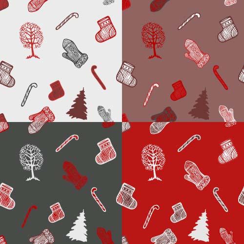 christmas ornaments vectors 2016