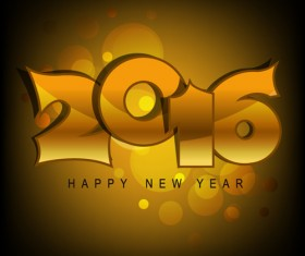 2016 new year creative background design vector 08