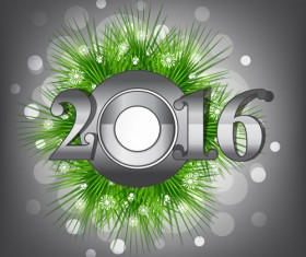 2016 new year creative background design vector 09