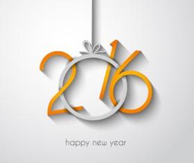2016 new year creative background design vector 20