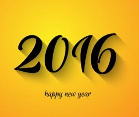 2016 new year creative background design vector 25