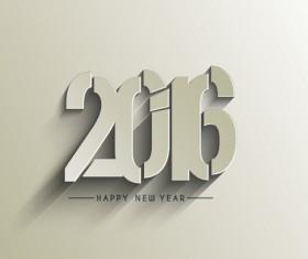 2016 new year creative background design vector 31