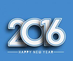 2016 new year creative background design vector 32