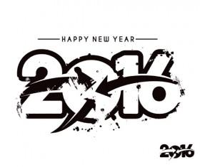 2016 new year creative background design vector 35