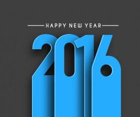 2016 new year creative background design vector 36