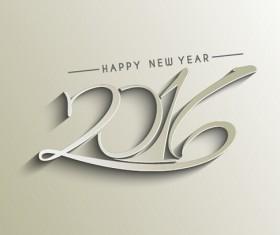 2016 new year creative background design vector 38