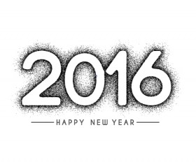 2016 new year creative background design vector 42