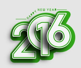 2016 new year creative background design vector 44