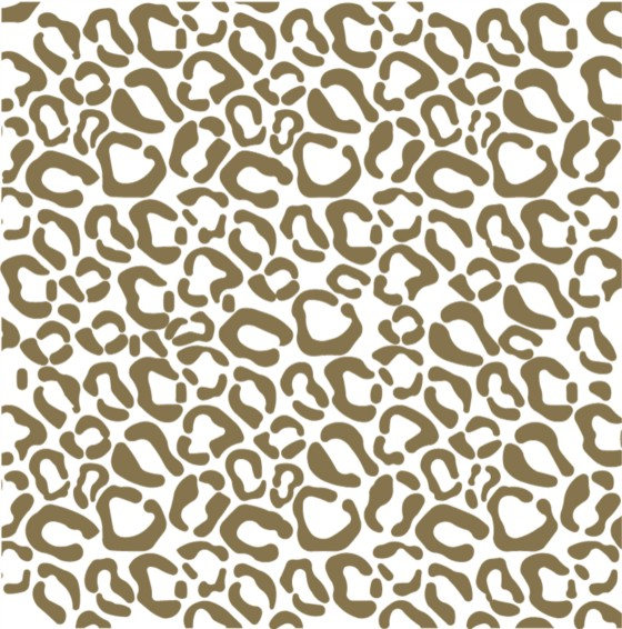 Bright leopard vector seamless pattern