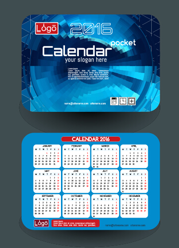 Calendar 2016 with business cards vector 09 free download calendar 2016 with business cards vector 09 colourmoves
