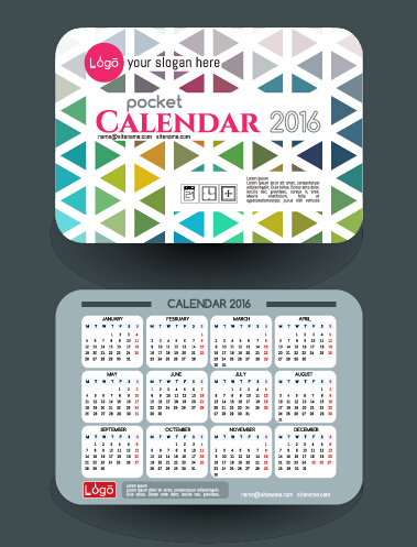 Calendar 2016 with business cards vector 11 free download calendar 2016 with business cards vector 11 colourmoves