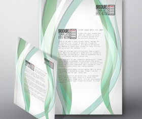 Cover brochure flyer business templates vectors 03