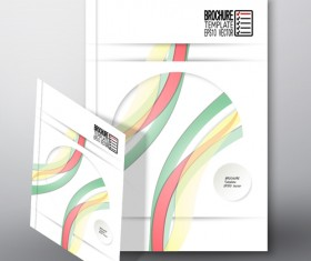 Cover brochure flyer business templates vectors 09
