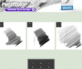 Creative Pencil Photoshop Brushes