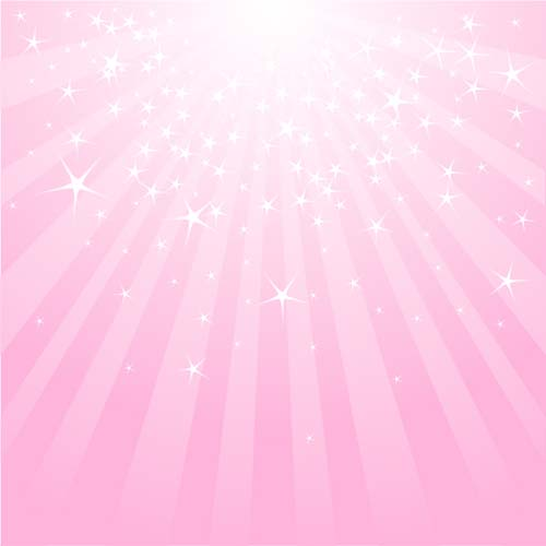 Light With Stars And Pink Background Vector Free Download