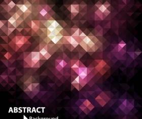 Purple light geometric background vector