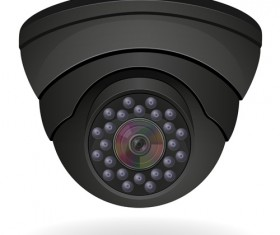 Realistic video surveillance vector material 01